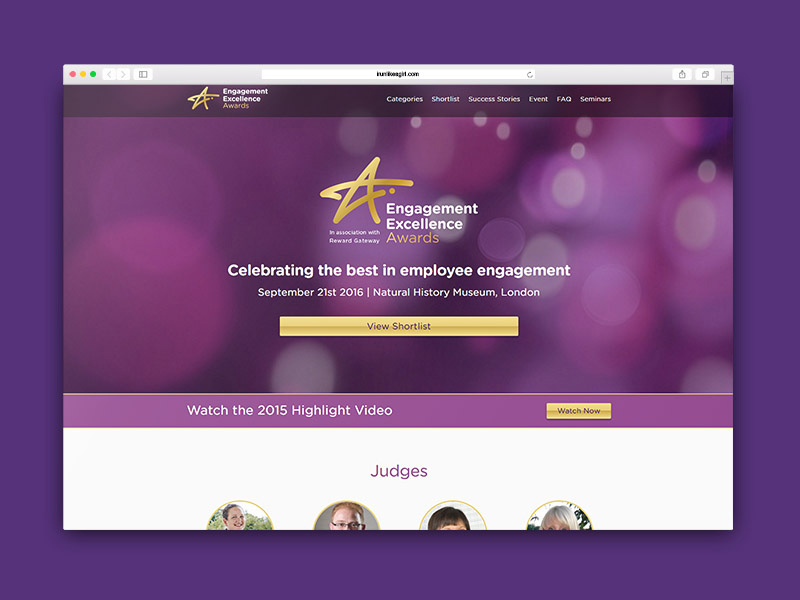 Engagement Excellence Awards Homepage